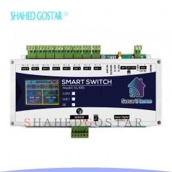 کنترل پیامکی دما و رطوبت 8 کانال با نمایشگر